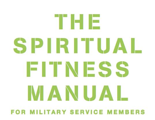 Spiritual Fitness Manual